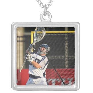 HAMILTON,CANADA - JULY 16:  Brian Phipps #30 2 Square Pendant Necklace