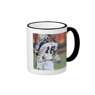 HAMILTON, CANADA - MAY 19:  Ben Hunt #18 3 Ringer Coffee Mug
