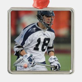 HAMILTON, CANADA - MAY 19:  Ben Hunt #18 3 Silver-Colored Square Ornament