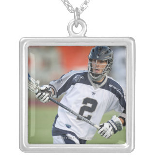 HAMILTON, CANADA - MAY 19:  Justin Smith #2 Silver Plated Necklace