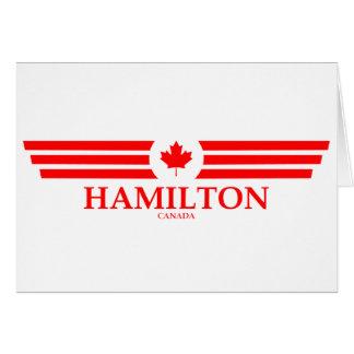 HAMILTON CARD