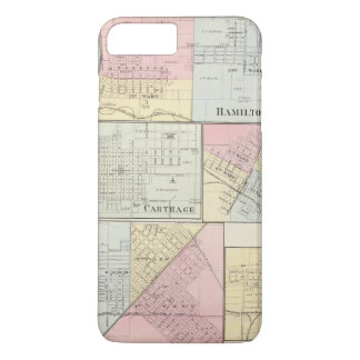 Hamilton, Carthage, Bushnell, Lincoln and LaHarpe iPhone 7 Plus Case
