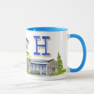 Hamilton college medley of buildings mug
