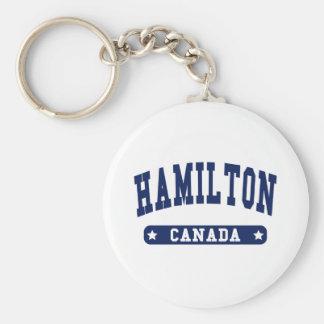 Hamilton Keychain