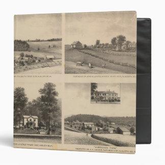 Hamilton, Landes, Yates residences, Horseshoe Farm Vinyl Binder