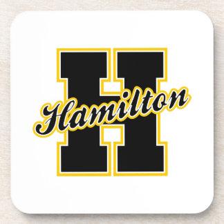 Hamilton Letter Coaster