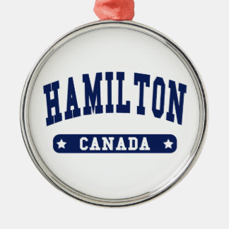 Hamilton Metal Ornament