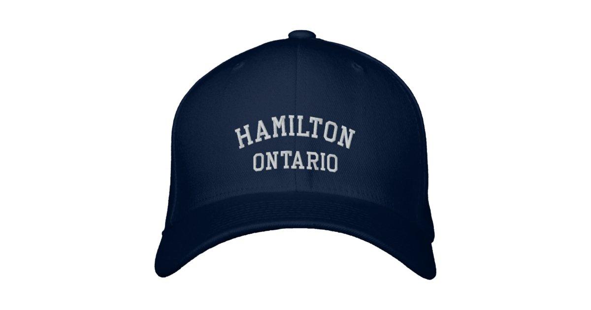 Baby Gift Baskets Hamilton Ontario : Hamilton ontario embroidered hat zazzle