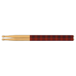 Hamilton Plaid Wooden Drumsticks