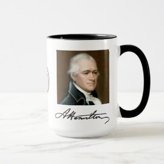 Hamilton Portrait & Facts Mug