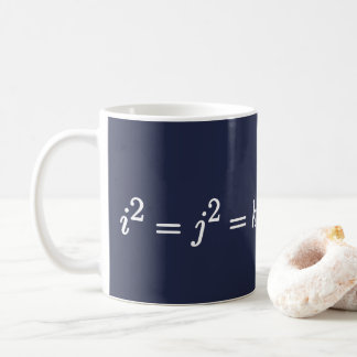 Hamilton Quaternion Science Mathematical Mug