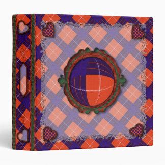 Hamilton Scottish clan tartan - Plaid Vinyl Binders