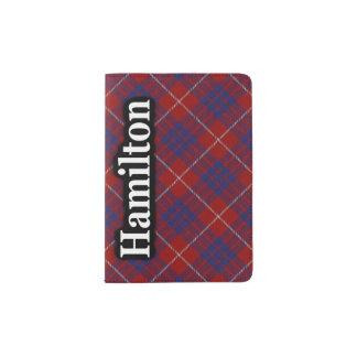 Hamilton Scottish Tartan Passport Holder