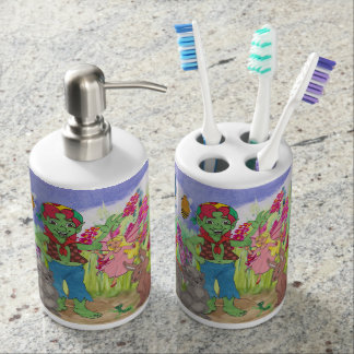 Hamilton Troll & Friends Toothbrush and Soap Set