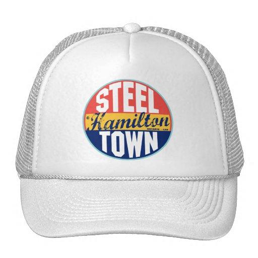 Hamilton Vintage Label Mesh Hats