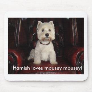 Hamish McTavish mousemat Mouse Pad
