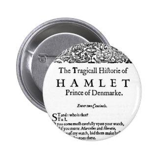 Hamlet 2 Inch Round Button
