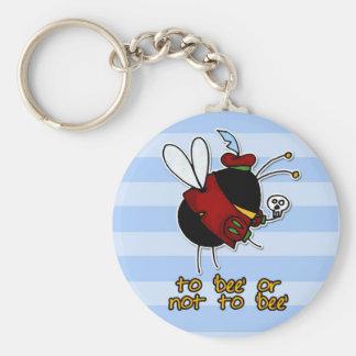 hamlet bee keychain