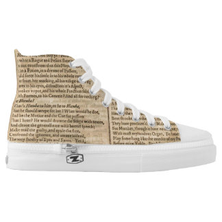Hamlet hightop shoes