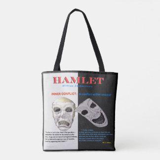 Hamlet Inner Conflict Tote Bag