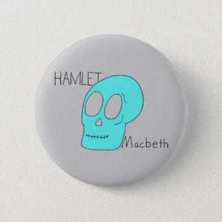 Hamlet Macbeth 2 Inch Round Button