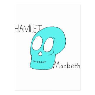 Hamlet Macbeth Postcard