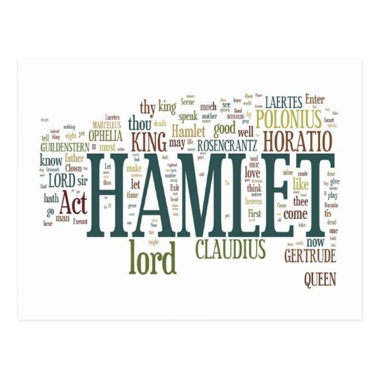 Hamlet! Postcard