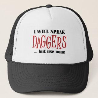 Hamlet's Daggers Trucker Hat