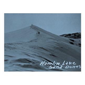 Hamlin Lake Sand Dunes, Michigan Postcard