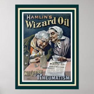 Hamlin's Wizard Oil (Cure All) 12 x 16 Print