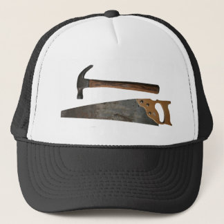 Hammer and Saw Items Trucker Hat