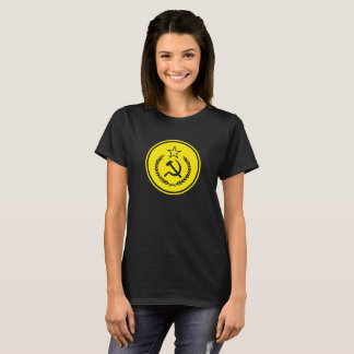 Hammer and Sickle Badge Women's Shirts