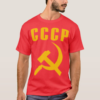 hammer and sickle cccp ussr T-Shirt