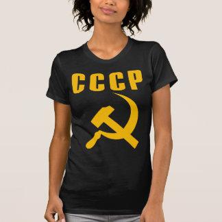 hammer and sickle cccp ussr tee shirt