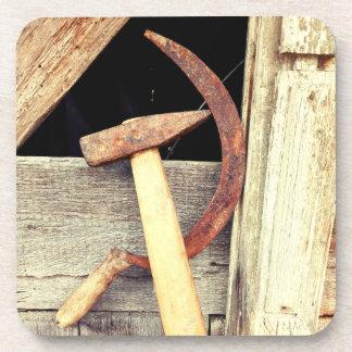 Hammer And Sickle - Communist Symbol Coaster