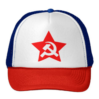 HAMMER, SICKLE & RED STAR Trucker Hat