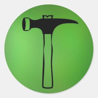 Hammer sticker