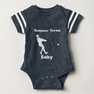 Hammer Throw Baby Baby Bodysuit