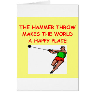 hammer throw card