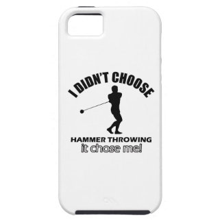 hammer throw design iPhone 5 cover
