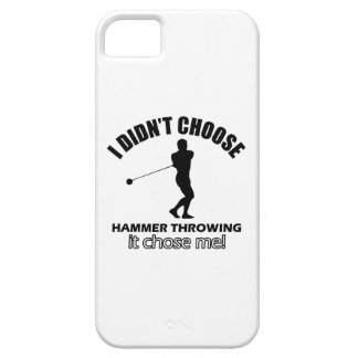 hammer throw design iPhone 5 covers