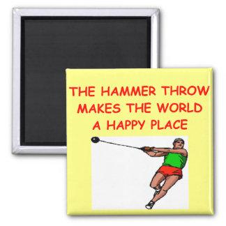 hammer throw magnet