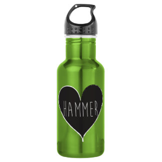 Hammer Throw Track and Field Waterbottle