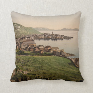 Hammerfest, Nord-Norge, Norway Throw Pillow
