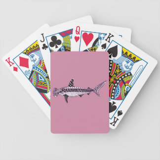 Hammerhead Shark Bicycle Playing Cards