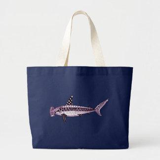 Hammerhead Shark Large Tote Bag