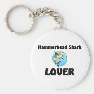 Hammerhead Shark Lover Keychain
