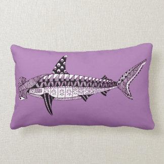 Hammerhead Shark Lumbar Pillow