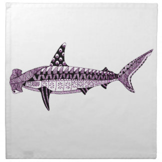 Hammerhead Shark Napkin