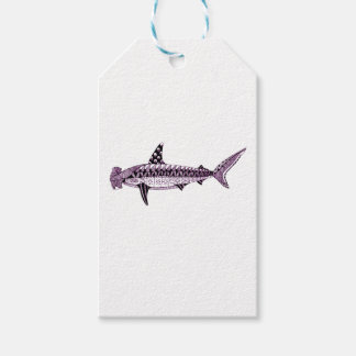 Hammerhead Shark Pack Of Gift Tags